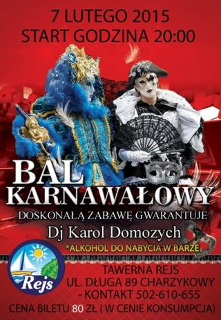 Charzykowy - Bal Karnawałowy w Rejsie